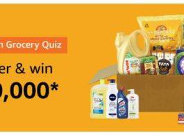 amazon grocery quiz 27 august