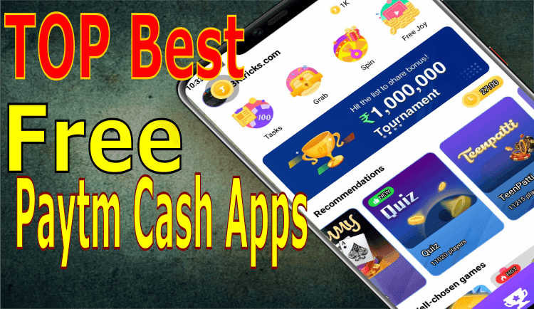 Instant Top 10 Best Free Paytm Cash Earning Apps In 2020 Loot