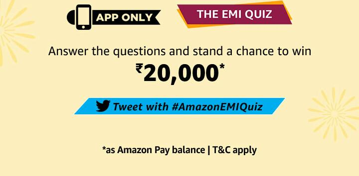 amazon emi quiz 20000