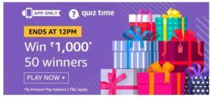 amazon quiz answer 2 September