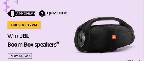 amazon quiz answers today 24