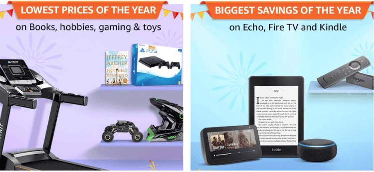 amazon sale on books & toys