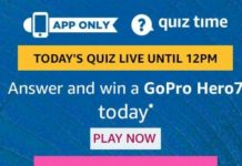 amazon today quiz answers 6 september