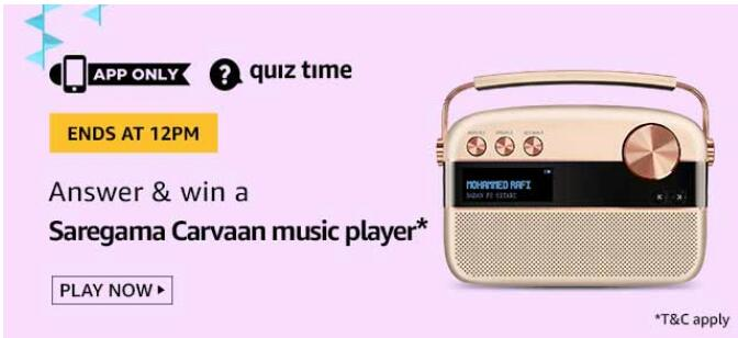 amazon today quiz answers 10 sept