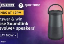 amazon quiz answers 5 October