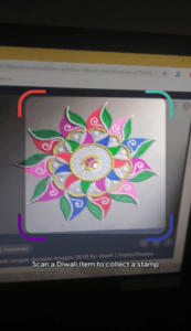 google pay diwali scanner