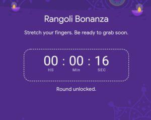 rangoli bonanza time