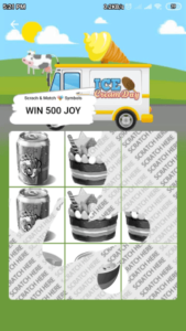 scratchcard game minijoy pro app