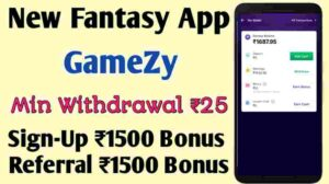 gamezy referral code 2021